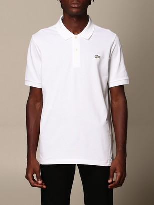 Lacoste L!ve Polo Shirt Lacoste L! Ve Slim Polo Shirt With Logo