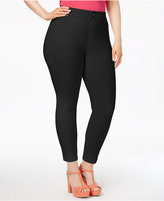 Hue Women's Plus Size Essential Denim Skimmer Leggings