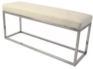 Orren Ellis Didmarton Faux Leather Bench