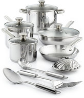 Tools of the Trade Stainless Steel 13-Pc. Cookware Set