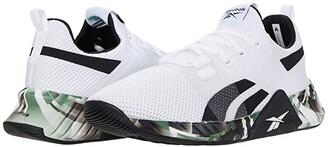 Reebok Flashfilm Train 2.0 (White/Black/Court Green) Men's Shoes