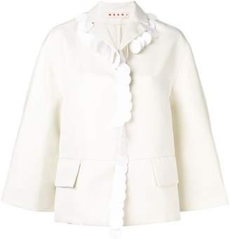 Marni Pailette Trim Jacket