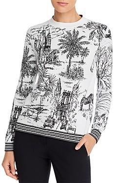 Marella Nalut Printed Crewneck Sweater