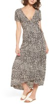 Billabong Women's Wrap Me Up Print Midi Dress