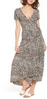 Billabong Women's Wrap Me Up Print Midi Dress