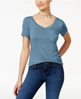 Ultra Flirt Juniors' High-Low Slouchy T-Shirt