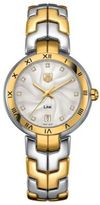 Tag Heuer Ladies' Two-Tone Link Calibre Watch