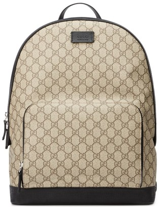 Gucci GG Supreme Canvas Backpack