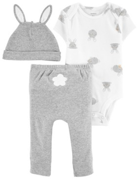 Carter's Baby Boys or Girls Easter 3-Pc. Pants Set