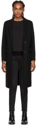 Mackage Black Long Wool Hens Coat
