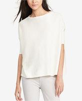 Lauren Ralph Lauren Petite Foil-Print Sweater