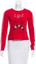 Lucien Pellat-Finet Embellished Cashmere Swetare