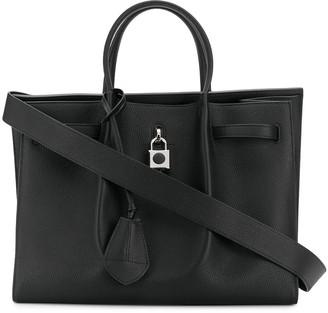 Lanvin Padlock-Detail Tote-Bag