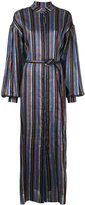 Osman belted stripe dress