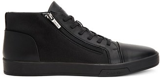 Calvin Klein Bozeman Leather High-Top Sneakers