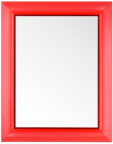 Kartell Francois Ghost Mirror - Red - Large