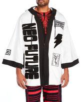 Kokon To Zai Oversized Patchwork Jacket