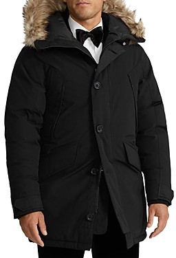 Polo Ralph Lauren Annex Faux Fur Trimmed Down Parka