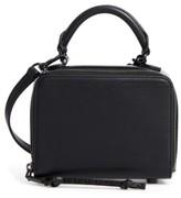 Rebecca Minkoff Box Leather Crossbody Bag - Black