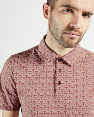 Ted Baker TDAWG Printed polo shirt