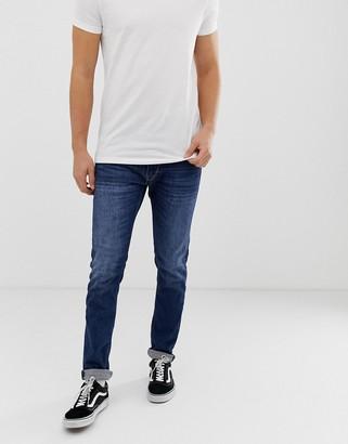 Replay Jondrill stretch skinny jeans in dark wash