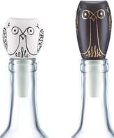 Kate Spade Woodland Park Set of 2 Owl Bottle Stoppers