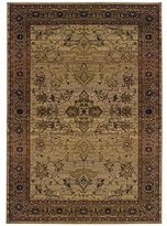 Sphinx by Oriental Weavers 748679154456 Kharma 9.75 ft. x 12.17 Traditional Rug - Beige and Green