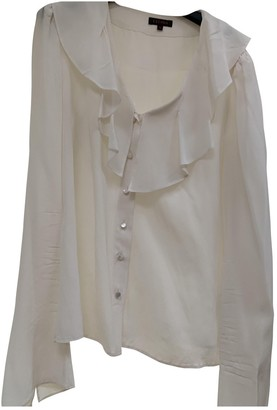 Escada White Silk Top for Women