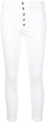 Veronica Beard Debbie high-waisted skinny jeans