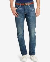 Polo Ralph Lauren Men's Varick Slim-Straight Clarke-Wash Jeans
