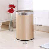 PEIISUGB Non-lid pressure ring trash bin household living room trash can kitchen bathroom,bedroom creative garbage cans
