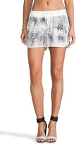 Rebecca Taylor Animal Printed Short