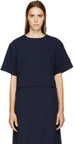 Simon Miller Navy Wool Cole Top