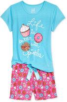 Max & Olivia 2-Pc. Sprinkles Pajama Set, Big Girls (7-16)