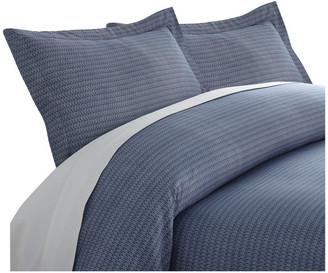 IENJOY HOME Premium Ultra Soft Blue Diamond 3-Piece Duvet Cover Set, Twin/Twin XL