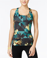 Energie Active Juniors' Brooklyn Printed Compression Tank Top