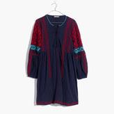 Madewell Ulla JohnsonTM Embroidered Yelena Tunic Dress