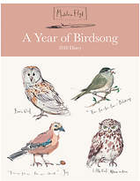 Madeleine Floyd A Year Of Birdsong 2018 Desk Diary
