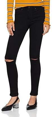 Cross Women's Natalia Skinny Jeans, (Black 101), 34W x 32L