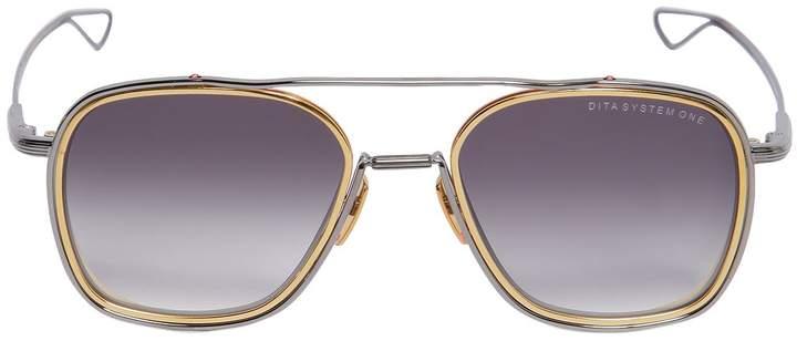 Dita System-One Aviator Sunglasses