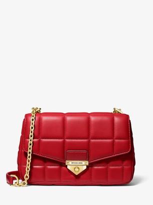 MICHAEL Michael Kors Soho Large Quilted Leather Shoulder Bag