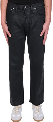 Maison Margiela Jeans In Black Polyester