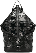 Jimmy Choo Fitzroy star patch backpack