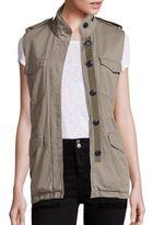 Rag & Bone Bennet Cotton Cargo Vest