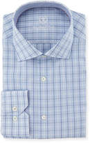 Bugatchi Plaid Cotton Dress Shirt