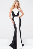 Jovani High Neck Fitted Long Prom Dress JVN47900