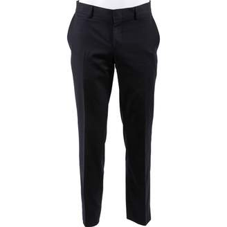 Gucci Navy Wool Trousers