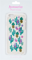Accessorize Embroidered Cactus iPhone 6 Cover