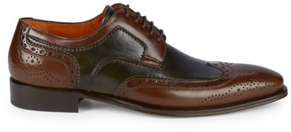 Mezlan Wingtip Leather Oxfords