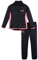 Under Armour Girls 2-6x Super Fan Two-Piece Jacket and Sweatpants Set